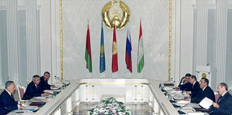 Eurasian Economic Community - Summit of the EurAsEC on 31 May 2001