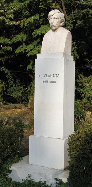 Alexandru Vlahuță - Bust in Cişmigiu Gardens
