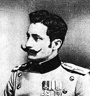Vojislav Tankosić Serbian Chetnik