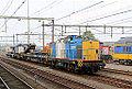 """VolkerRail 203-5 met een mobiele Kirow-spoorkraan """"Obelix"""", Amersfoort. (15237200546).jpg"""