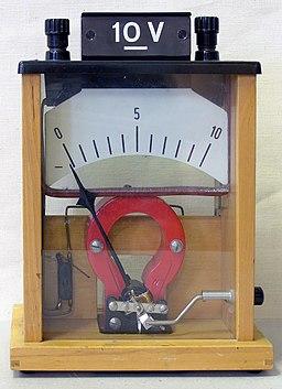 Voltmeter hg