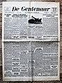 """Voorpagina Vlaams Katholiek dagblad """"De Gentenaar"""" 23 Augustus 1942.jpg"""
