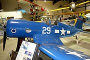 Vought F4U Corsair replica - Oregon Air and Space Museum - Eugene, Oregon - DSC09878.jpg