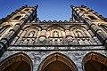 Vue de l'extérieure de l'Église-Catholique-Notre-Dame Basilique-Notre-Dame.jpg