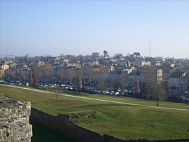 A general view of Blaye