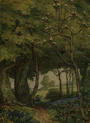 Illustration of poem by John Keats by W. J.