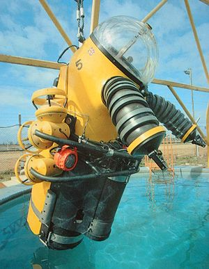 Graham Hawkes - Image: WASP at the OSEL Testing tank Gt Yarmouth, UK