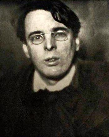 A photograph of William Butler Yeats on 24 Jan...