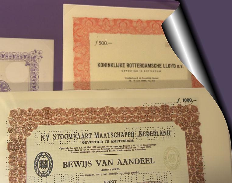 File:WLANL - Quistnix! - Maritiem Museum - aandelen.jpg