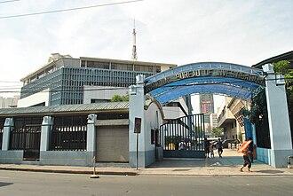National Bureau of Investigation (Philippines) - NBI main office at Taft Avenue, Manila.