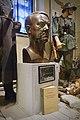 """WW2 in Norway. Quisling bust by Rasmussen, """"Straffesak mot Quisling"""", etc. Exhibition at Justismuseet, Trondheim. 2019-04-10 DSC03157.jpg"""