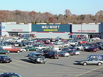 Chain store - A Walmart chain store