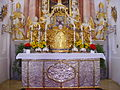Waldsassen Wallfahrtskirche Kappl Innen Altar 2.JPG