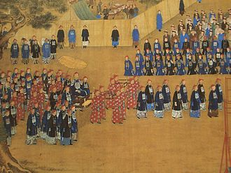 Chengde - The Qianlong Emperor (r. 1735−1796) touring Chengde.