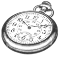 Waltham Railroad Watch, Eaton's, 1917.png
