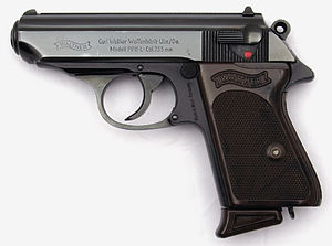 Walther PP - A Walther PPK-L manufactured in 1966