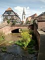 Walzbach, Weingarten, Marktbrücke, Wlalk'sches Haus, Katholusche Kirche (3).jpg