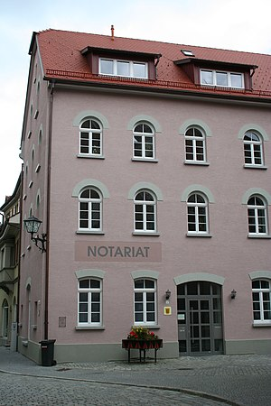 Civil law notary - Notar office