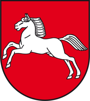 Saxon Steed - Image: Wappen Freistaat Braunschweig