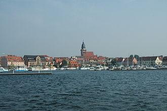 Müritz - Waren's town harbour