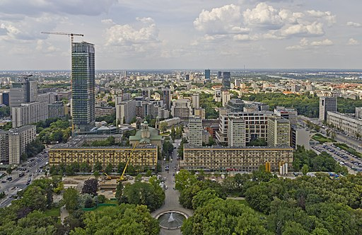 Warsaw 07-13 img29 View from Palace of Culture and Science