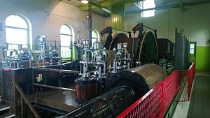 Albany, Tyne and Wear - The 1888 steam winding engine