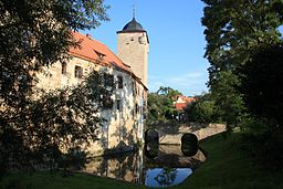 Wasserburg Kapellendorf (Südwestseite) - Kapellendorf, Weimarer Land, Thüringen, Deutschland