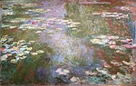 Water-lily Pond by Claude Monet, 1917-1919, Art Institute of Chicago.JPG