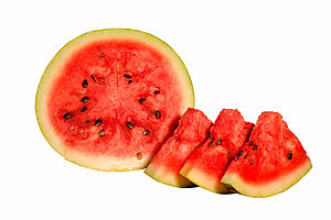 Watermelon - Watermelon cross section