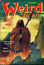Weird Tales cover image for January 1952