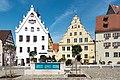 Wemding, Marktplatz, Marktbrunnen, Nr. 1, 2 20170830 001.jpg