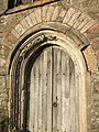 West doorway, Iddesleigh church - geograph.org.uk - 469336.jpg