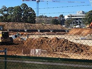 Western Sydney Stadium - Western Sydney Stadium Construction Site