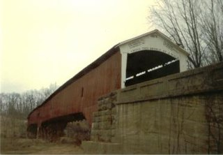West Union Covered Bridge (Indiana) place in Indiana listed on National Register of Historic Places