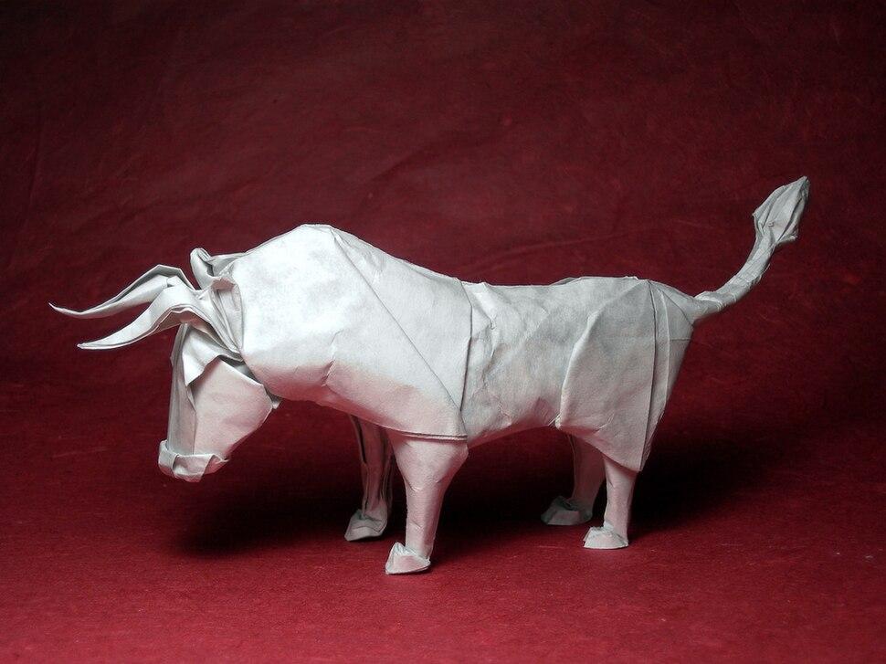 Wet-folding bull