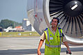 What it means to be..tower pusher @ Brussels Airport (7975518618).jpg