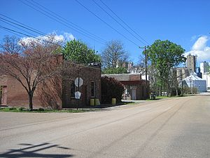 Wheatley, Arkansas - Streetside in Wheatley
