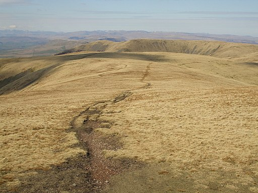 White Fell Head from the Calf - geograph.org.uk - 1803034