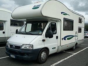 Campervan - A coachbuilt Fiat campervan
