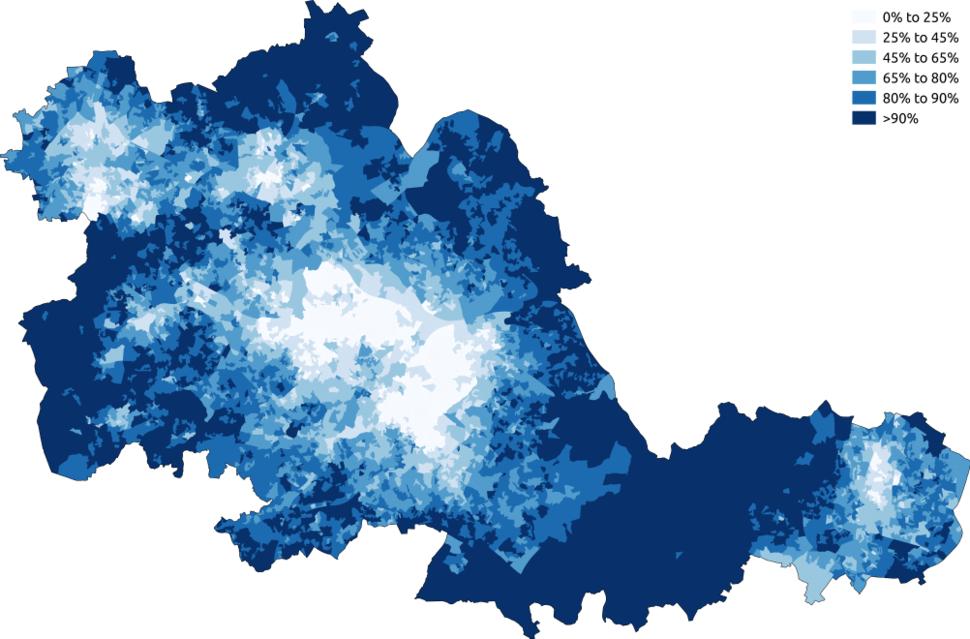 White West Midlands 2011 census