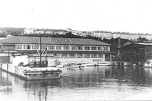 Robert Whitehead - Whitehead Torpedo and Ship-factory in Fiume, 1910
