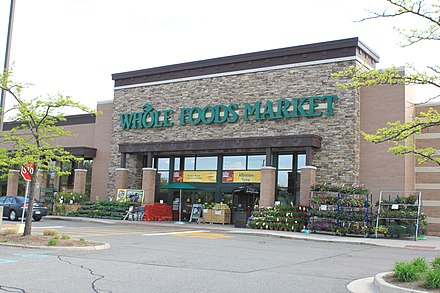 Whole Foods Market store in Ann Arbor, Michigan Whole Foods Market Cranbrook Village Ann Arbor Michigan.JPG