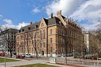 Hans Kelsen - Kelsen's high school Akademisches Gymnasium in Vienna.