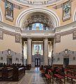 Wien Zentralfriedhof Kirche Innenraum NW-Seite 01.jpg