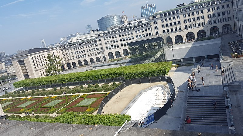 File:Wiki Loves Art - Brussels - Royal Library of Belgium - view from library (4).jpg