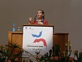Wikimania 2008 - Closing Ceremony - Florence Devouard - 9.jpg