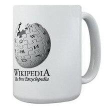 Mug con il logo di wikipedia