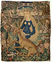Wild Women with Unicorn, c.1500-1510, Basel, Historisches Museum