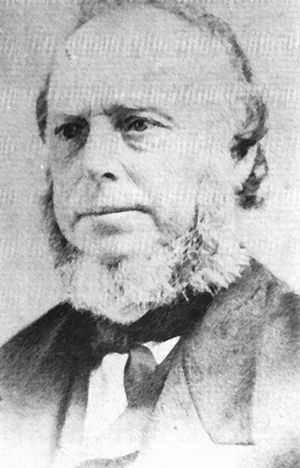 Nauvoo Expositor - William Law, former member of the First Presidency and a publisher of the Expositor.
