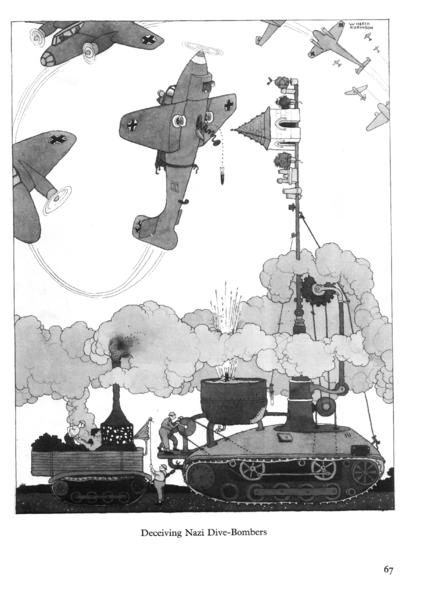 Engañando a los bombarderos nazis